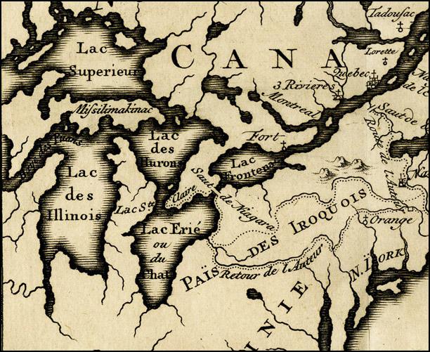 Carte du Canada by Claude LeBeau
