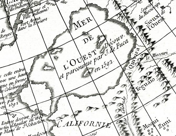 carte generale des decouvertes d l'amiral de fonte