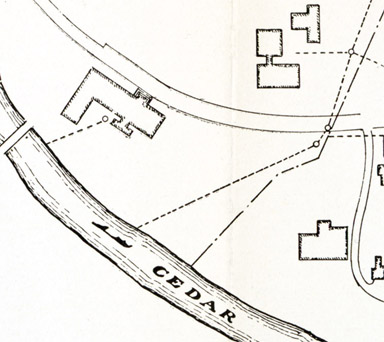 1926 Map of IM Circle on MSCs campus
