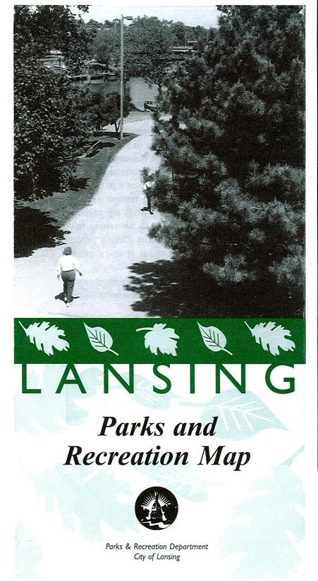 Lansing parks map panel