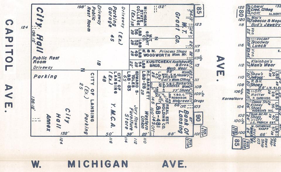 detail from Nirenstein's real estate atlas