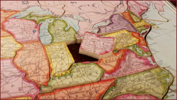Early 20th Century Map Puzzles | MSU Libraries