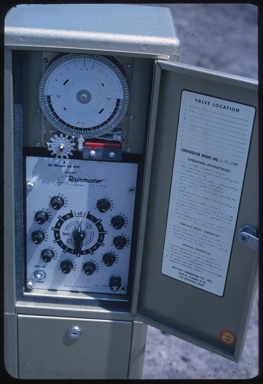 Moody Rainmaster auto irrigation clock