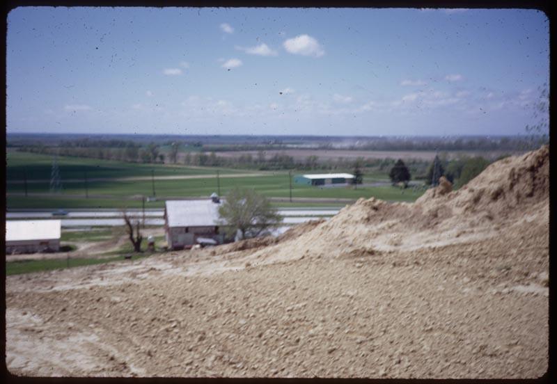 Brockmeier Sod Farm in distance