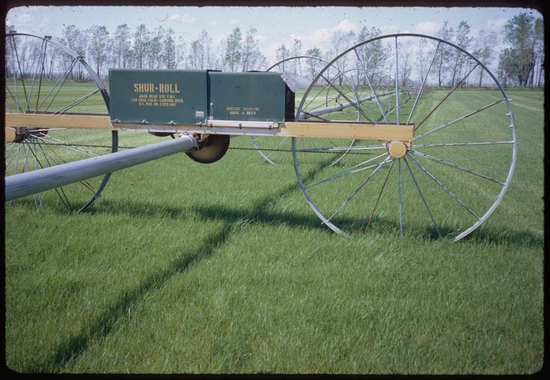 Portable irrigation Brockmeier Sod Farm