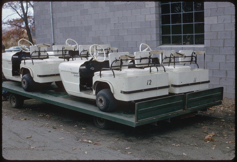 Golf car carrier.