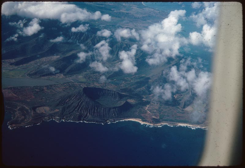 View of Crater from Air