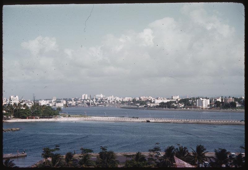 San Juan from Hilton Hotel Room