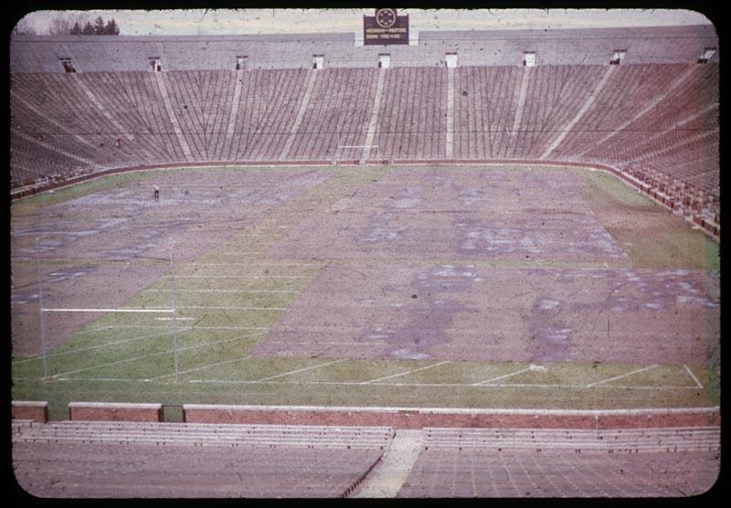 Tarp on Athletic Field