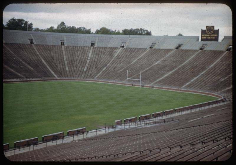 View of Stadium from Stands