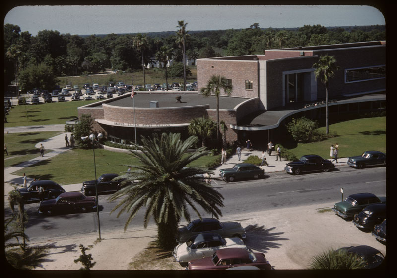 Student center from Nutters office