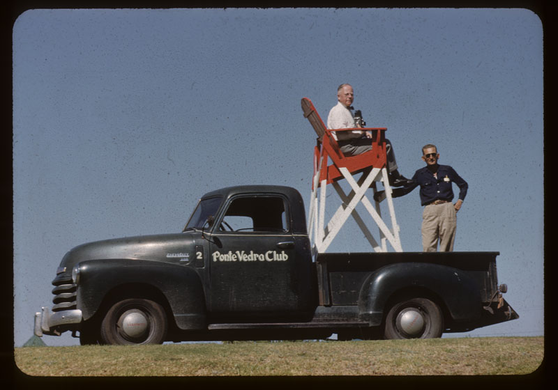 O.J. Noer on Photo Seat Rig
