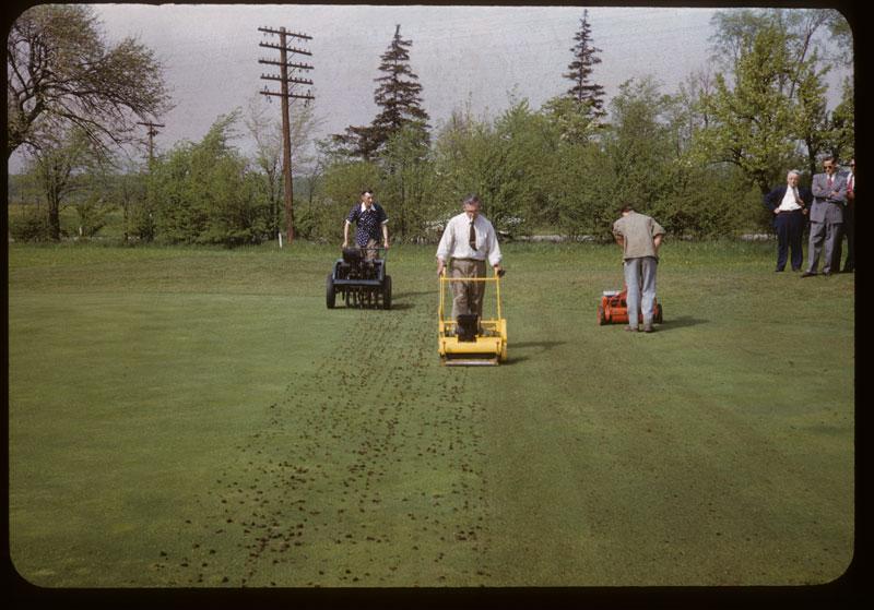 Aerify, Verti-cut & mowing G