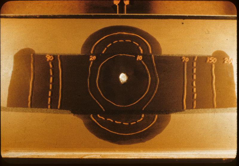 Gardner's sand lense above & below