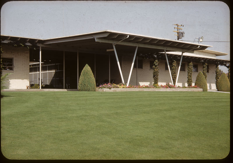 Bent Lawn for clubhouse