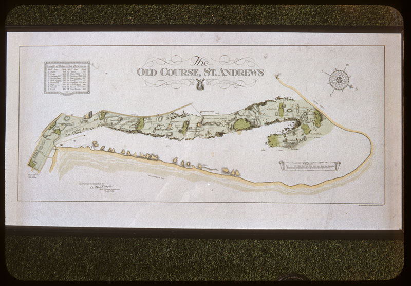 """Picture """"Old Course"""" St. Andrews Scotland"""