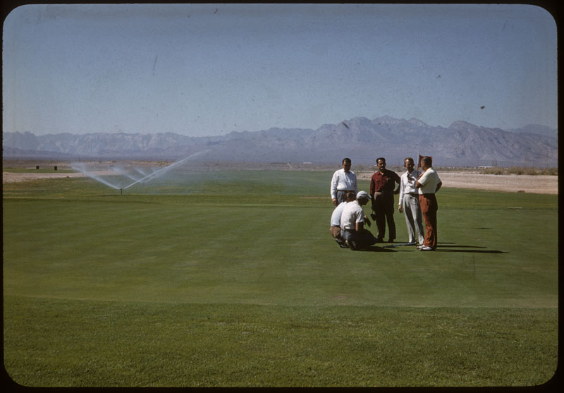 Experts check irrigating F