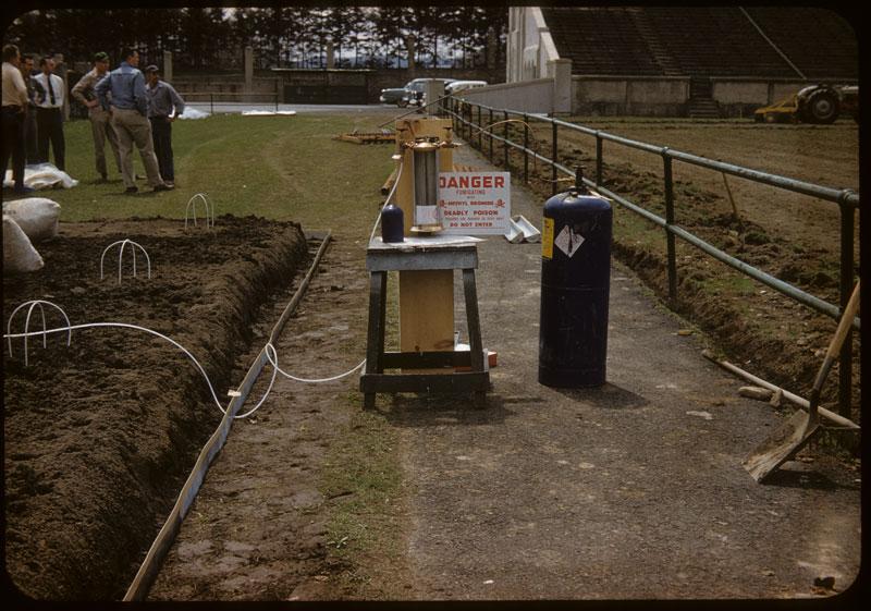 Dowfume Gauge meters from tank