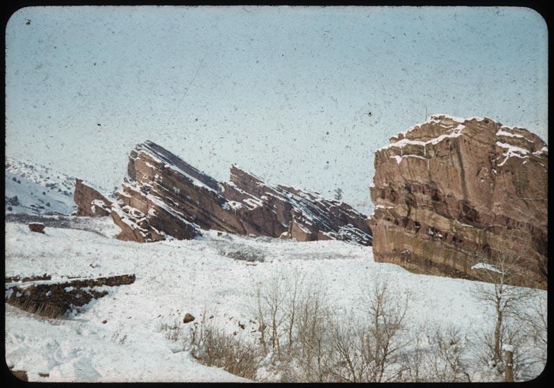 Rock Formation Rocky Mt.