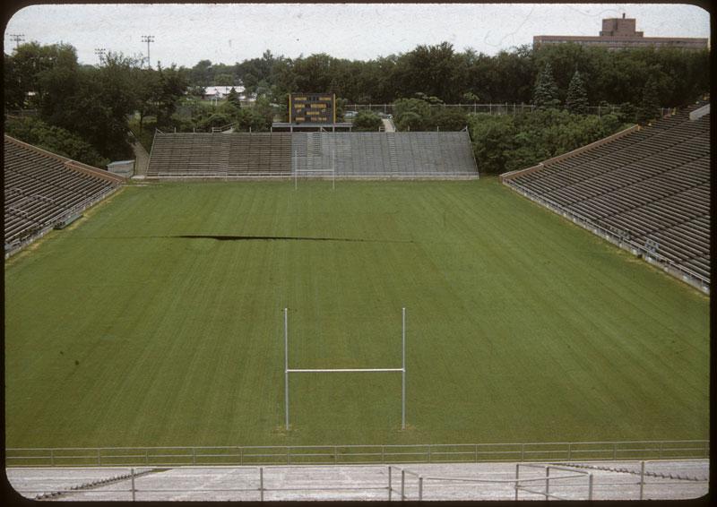 Main Stadium sodded center