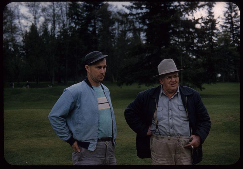 Harvey and Donald Junor