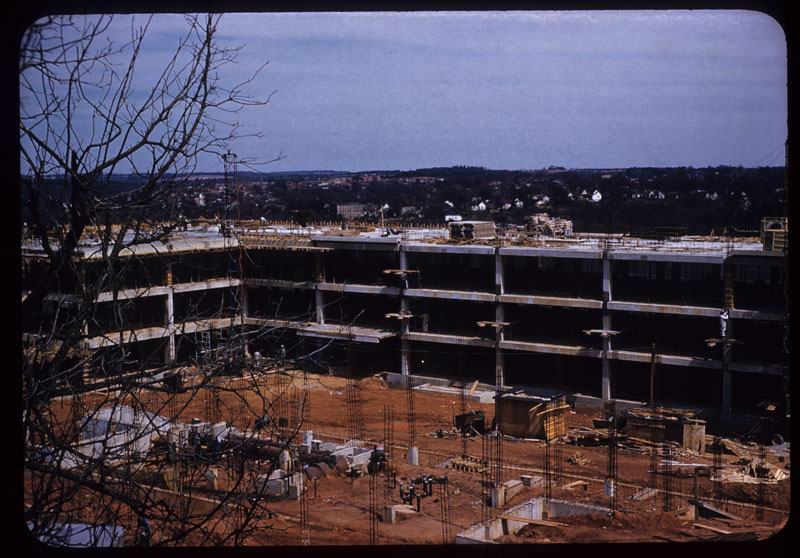 Construction of Science Center
